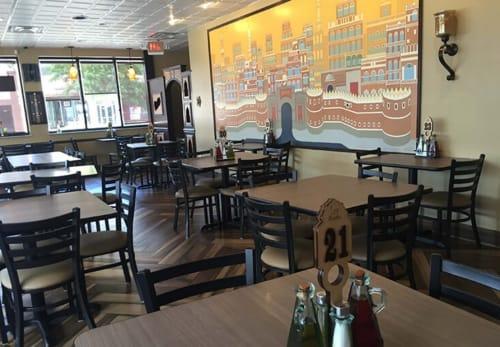 Sheeba Restaurant, Restaurants, Interior Design