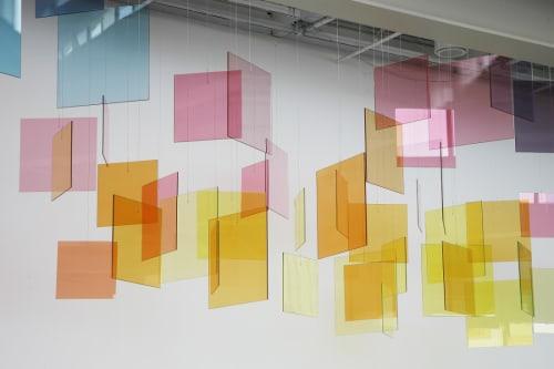 Spencer Finch - Murals and Art
