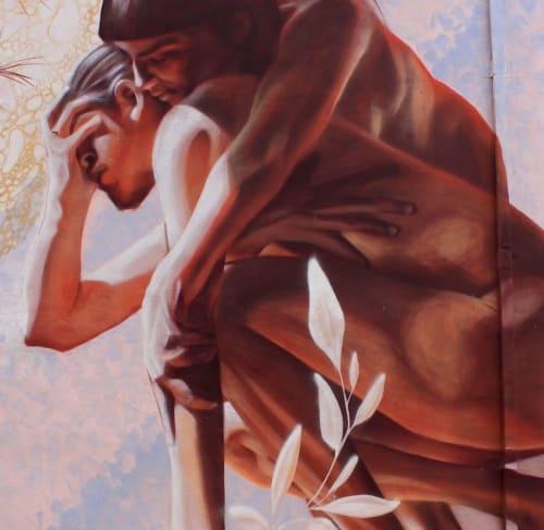 Raíz de la existencia | Street Murals by JP