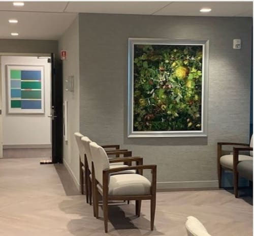 Paintings by Elizabeth Gourlay seen at Montefiore New Rochelle Hospital, New Rochelle - Art Heals Painting