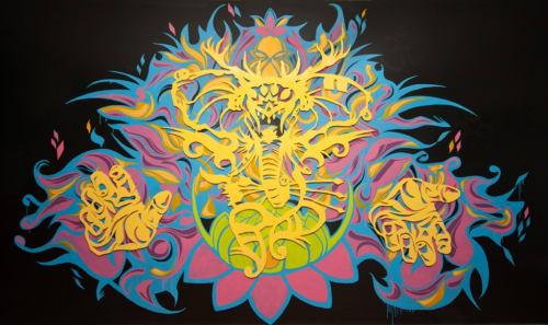 Dr. Z (aka James Zdaniewski) - Murals and Art