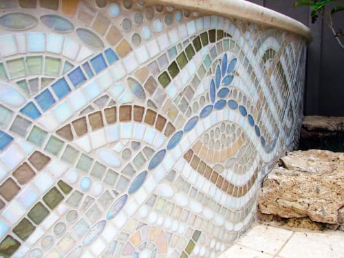 Art & Wall Decor by Dyanne Williams Mosaics seen at Private Residence, Kailua - Secret Mosaic Spa