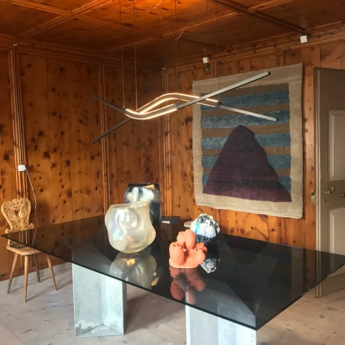 Pendants by Georges Mohasseb seen at Private Residence, Saint Moritz - Kissaki