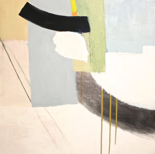 Paintings by Aliza Cohen seen at Williamsburg Home, Brooklyn - The Wind Would Not Quit