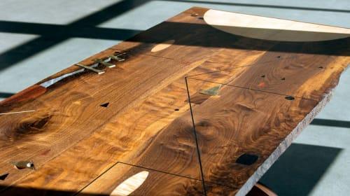 Tables by Birnam Wood Studio seen at Birnam Wood Studio, Queens - Poet's Desk
