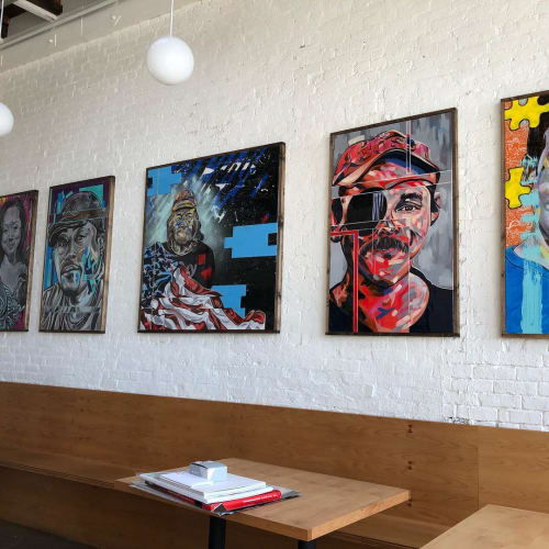Paintings by Trent Thompson seen at Range Life, Livermore - Pictures 4 People