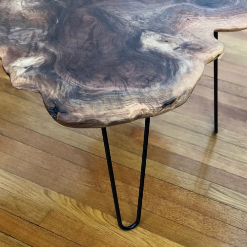 Tables by Justin Porro Designs seen at Private Residence, East Rutherford - Coffee Table