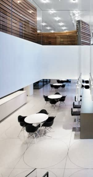 Tables by Jehs + Laub seen at Orrick, Herrington & Sutcliffe, LLP, New York - Tables