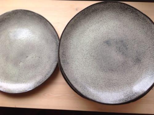 Ceramic Plates by Akiko's Pottery seen at Commonwealth, San Francisco - Handmade Slab Plates