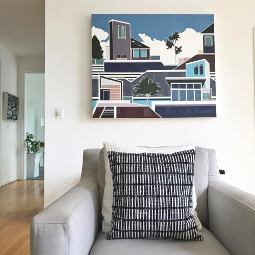 Paintings by Lisa Ashinoff seen at New York , NY Private Residence, New York - Hayes