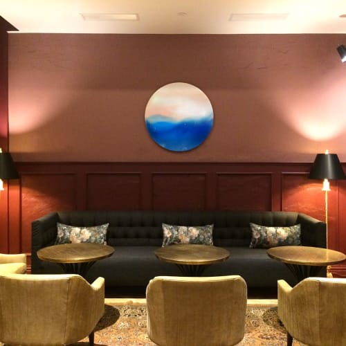 Paintings by Marina Dunbar seen at The Eliza Jane In The Unbound Collection By Hyatt, New Orleans - Wall Art Installation