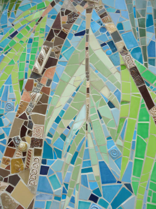 Public Mosaics by Delaine Hackney seen at Oakland City Center, Oakland - Palm Court