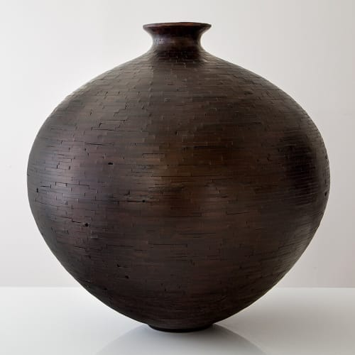 Vases & Vessels by Richard Haining at Colony, New York - Alaskan Cedar Vessels