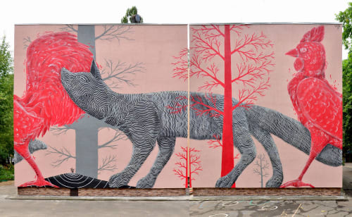 Klone - Street Murals and Public Art