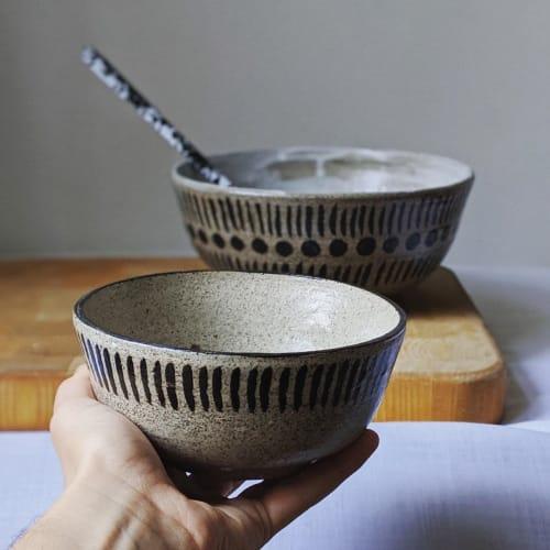 Tableware by Ceramicsbytiz seen at Private Residence, Tallinn - Mediterranean Ceramic Bowls