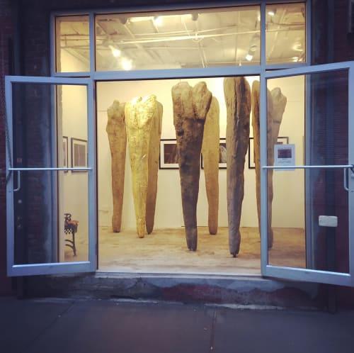 Sculptures by Leonard Ursachi seen at Canton Projects, Brooklyn - Drift