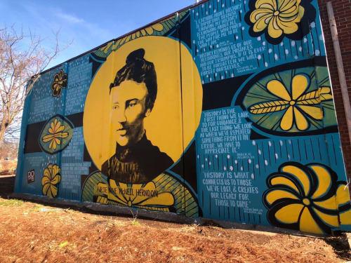 Street Murals by Charmaine Minniefield at Atlanta, Atlanta - WESTSIDE OF ATLANTA Mural