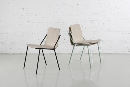 Chairs by m.a.d. furniture design at Dorcas & King, South Melbourne - Sling Chairs