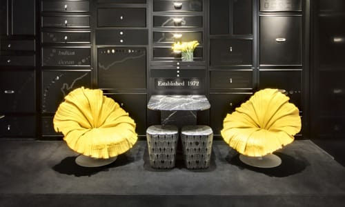 Chairs by Kenneth Cobonpue at Linneys Jewelry Store, Westfield, Sydney, Sydney - Bloom Easy Armchair