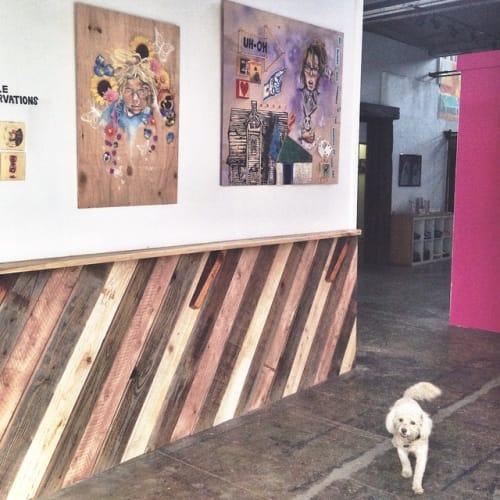 Wall Treatments by Monkwood at Monkwood Studio, Fullerton - Wall Paneling
