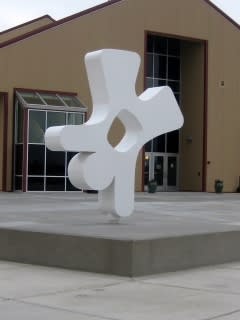 Public Sculptures by CJRDesign at Southridge Sports Complex, Kennewick - Happy Human