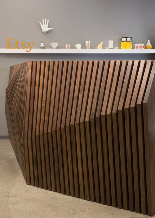 Furniture by Robert Sukrachand at Etsy, DUMBO, Brooklyn - Parametric Desk