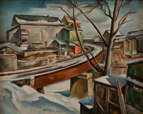 Charles Rosen - Murals and Art