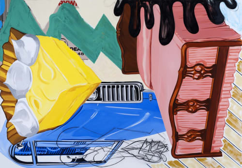 David Salle - Paintings and Art