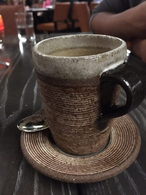 Cups by Mary Mar Keenan at Vina Enoteca, Palo Alto - Latte Cup