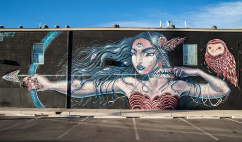Lauren Ys - Street Murals and Murals