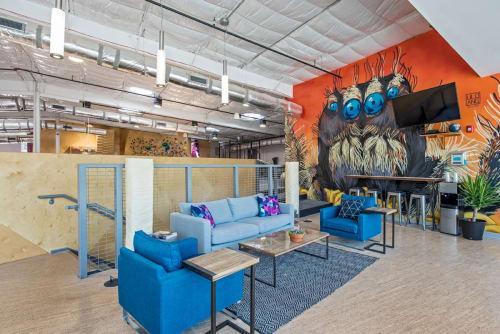 Crux Climbing Center, Stores, Interior Design