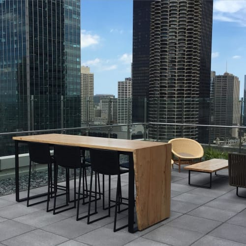 Tables by Jason Lewis seen at Private Residence, Chicago - Dining Table