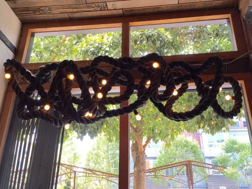 Lighting by Seth Quest at Four Barrel Coffee, San Francisco - Knot Light