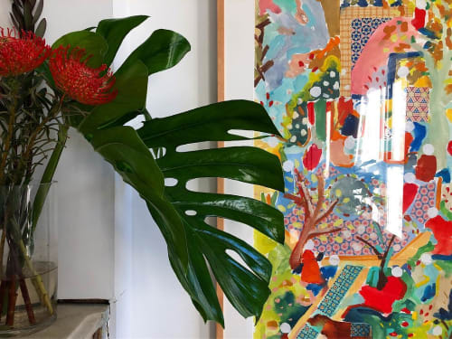Paintings by Alexandra Karamallis seen at Private Residence, Brooklyn - Paintings