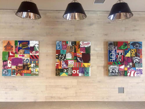 Paintings by Aaron Whisner seen at OU-Tulsa, Tulsa - OU Trio