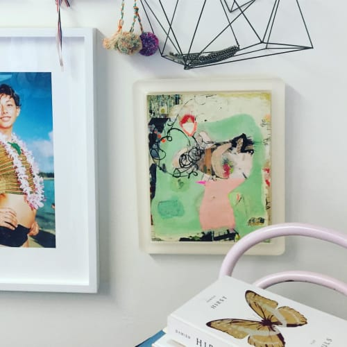 Paintings by Julie Harris seen at AqC, Los Angeles - Small Piece