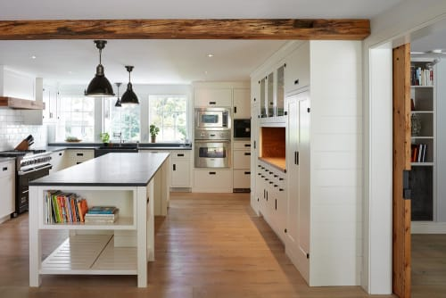Interior Design by Vicente-Burin Architects seen at Private Residence, Westport - Architectural Design - Saltbox