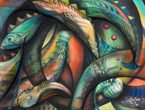 Erin Yoshi - Murals and Street Murals