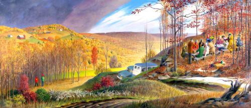 Alison Mason Kingsbury - Murals and Art