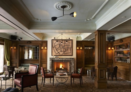 The Marlton Hotel, Hotels, Interior Design