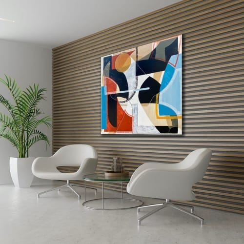 Paintings by TS ModernArt Studio seen at Private Residence, Manhattan Beach - 72 And Sunny