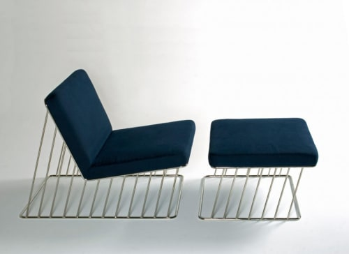 Chairs by Phase Design by Reza Feiz seen at The William Vale, Brooklyn - Wired Italic Lounge Chair