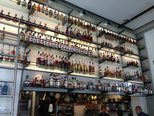 Whiskey Library | Furniture by Lundberg Design | Hard Water in San Francisco