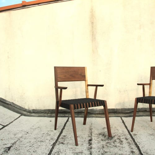 Chairs by Lucca Zeray seen at Zeray Studio, Brooklyn - Custom Chair