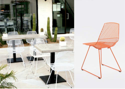 Chairs by Bend Goods seen at Workshop Kitchen + Bar, Palm Springs , CA, Palm Springs - The Ethel Side Chair