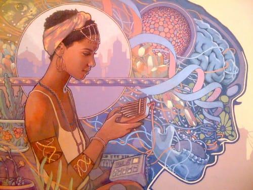 Joshua Mays - Murals and Paintings