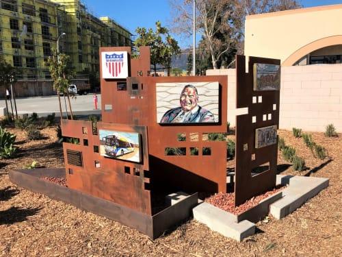 Public Mosaics by Carole Choucair Oueijan - Mayor Bob Bartlett Memorial