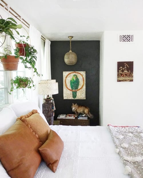 Art & Wall Decor by Sharlene Kayne (Skayne Designs) seen at Private Residence, Los Angeles - Parrot Collage