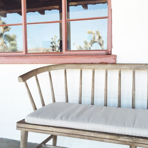 Benches & Ottomans by West Elm at The Joshua Tree House, Joshua Tree - Dexter Outdoor Bench Cushion