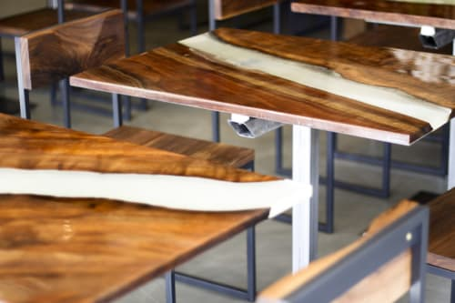 Tables by Tyler Speir Bradford seen at Skool, San Francisco - Bespoke Dining Table